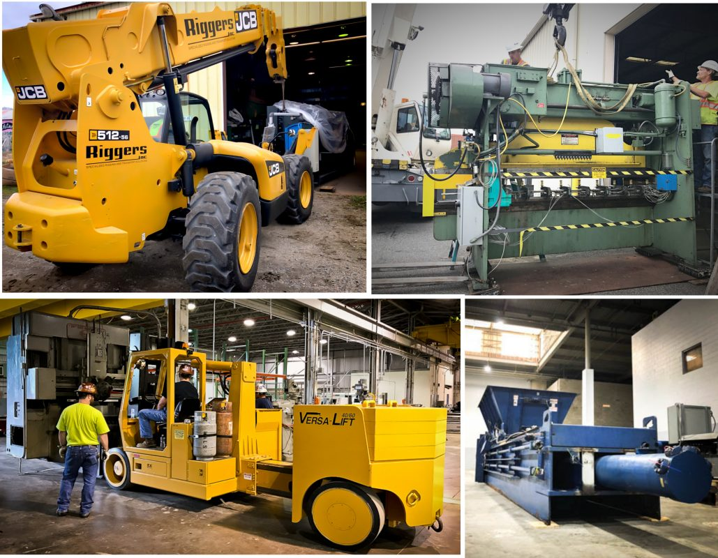 Handling Heavy Cargo And Installation Machineries